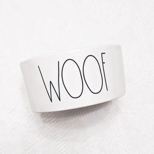 Dog Mom Gift Rae Dunn Woof Dog Dish Wedding Gift